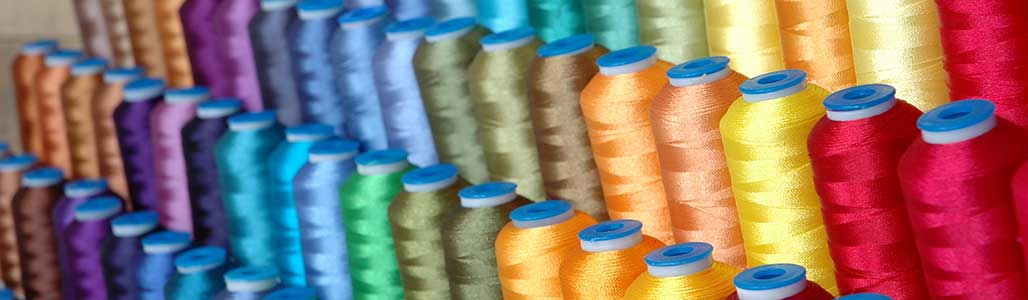 Embroidery thread colours